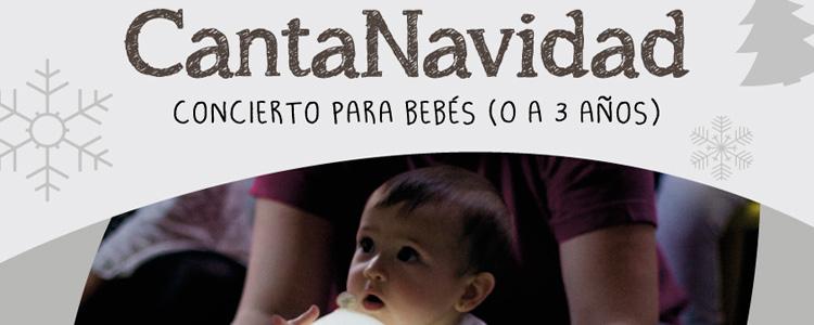 CantaNavidad. Concierto para bebés