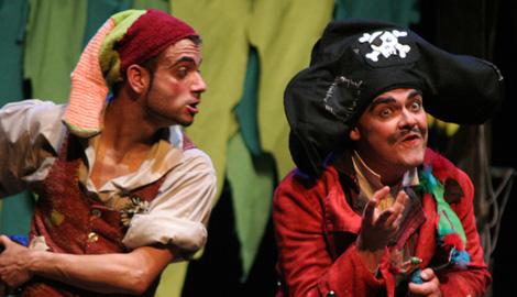 Piratas: teatro