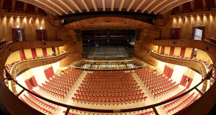 Ciudad de la cultura for Teatro de la laboral