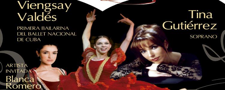 Danza en concierto por Tina Gutiérrez y Viengsay Valdés