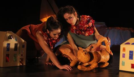 Asturias con niños: Mis dedos tocan los días que pasan, teatro en La laboral