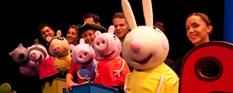 #Asturias con niños: Peppa Pig en La Laboral el sábado