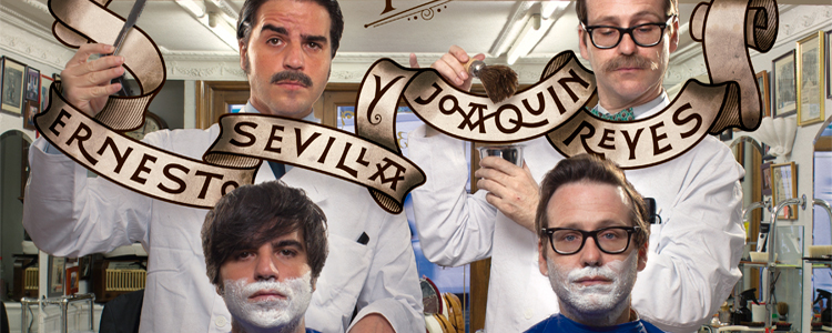 Viejóvenes con Ernesto Sevilla y Joaquín Reyes