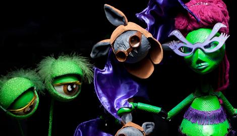 Asturias con niños a dónde vamos hoy? al Teatro para los más pekes: Monstruos