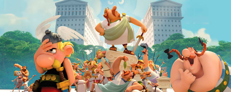 Vamos al cine! Astérix: Le domaine des dieux