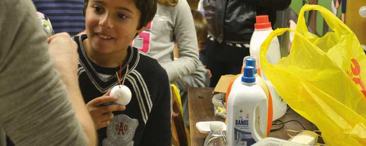 Asturias con niños: No lo tires! TALLER EN LA LABORAL la próxima semana