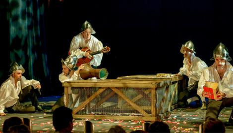 Asturias con niños a dónde vamos hoy? al Teatro para adolescentes: siglo de ahora, de Ron Lalá