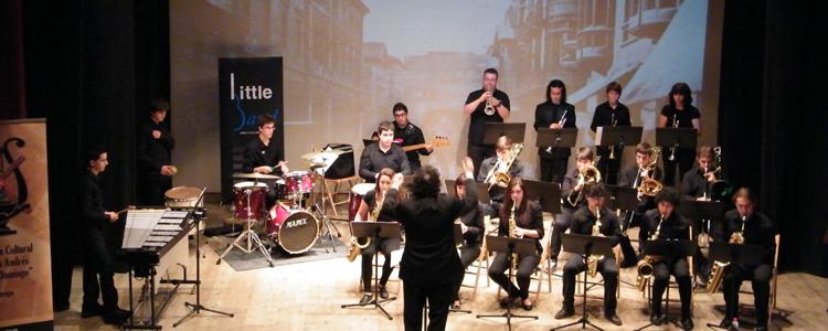 Concierto de la Little Band y la Banda de Música del Conservatorio de Gijón