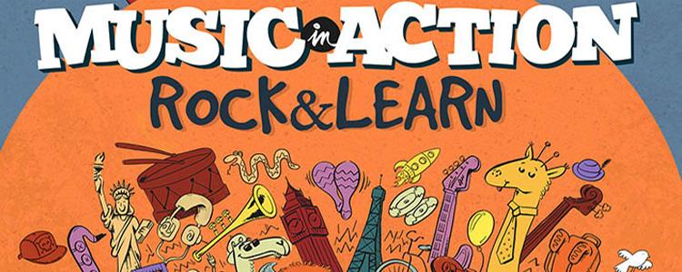 Vamos a la música! Rock & Learn de Music in Action
